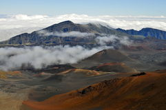 Volcán de Haleakala, Maui Imagen de archivo libre de regalías