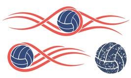Voleibol abstracto ilustración del vector