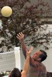 Voleibol da água Fotografia de Stock