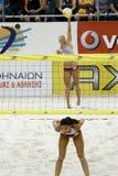 Voleibol da praia Imagens de Stock