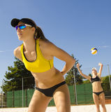 Voleibol da praia Imagem de Stock Royalty Free
