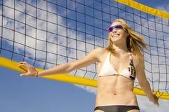Voleibol da praia Fotos de Stock