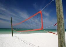 Voleibol de la playa Fotografía de archivo