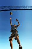 Voleibol de la playa Foto de archivo