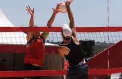 Voleibol de la playa Fotos de archivo