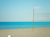 Voleibol de la playa Foto de archivo libre de regalías