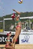 Voleibol de la playa. Fotos de archivo