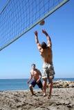 Voleibol de la playa Imagen de archivo libre de regalías