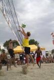 Voleibol de playa Imágenes de archivo libres de regalías
