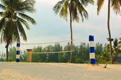 Voleibol de playa Fotografía de archivo
