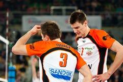 Voleibol de Polonia de la taza del Enea fotos de archivo libres de regalías