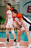 Voleibol de Polonia de la taza del Enea fotografía de archivo