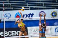 Voleibol de praia Fotografia de Stock