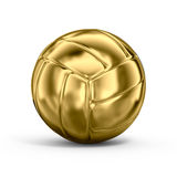 Voleibol del oro Foto de archivo libre de regalías
