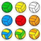 Voleibol dos desenhos animados ilustração stock