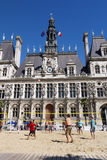 Voleibol em Paris 2013. Imagem de Stock