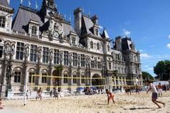 Voleibol em Paris 2013. Fotografia de Stock