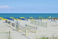 Voleibol en la playa Imágenes de archivo libres de regalías