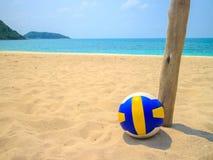 Voleibol na areia Imagens de Stock Royalty Free