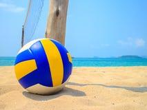 Voleibol na areia Imagens de Stock