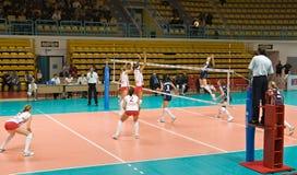 Voleibol ruso de las mujeres Fotos de archivo