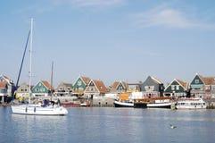 volendam Голландии гавани Стоковое фото RF