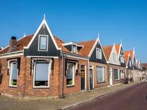 Volendam city scenes Stock Photo