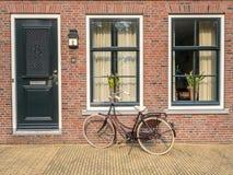 Volendam city scenes Stock Photos