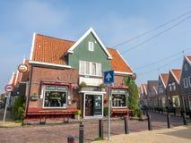 Volendam city scenes Royalty Free Stock Photos
