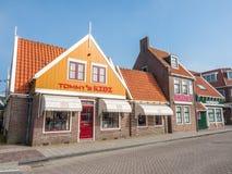 Volendam city scenes Royalty Free Stock Photo