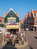 Volendam city scenes Stock Photography