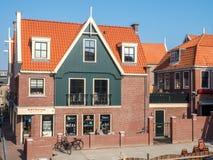 Volendam city scenes Royalty Free Stock Photography