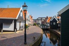 Volendam del pueblo pesquero en los Países Bajos foto de archivo libre de regalías
