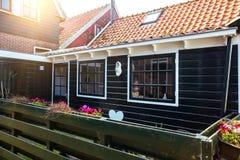 Volendam del pueblo pesquero en los Países Bajos imágenes de archivo libres de regalías