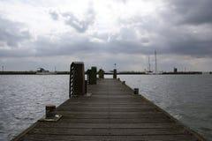 Volendam ist eine Stadt in Nordholland Stockfotografie