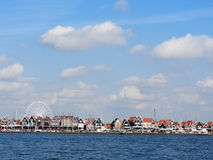 VOLENDAM, NETHERLANDS - 2016 is a popular touristic destination in North Holland Royalty Free Stock Image