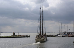 Volendam -- North Holland in the Netherlands Royalty Free Stock Photography