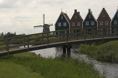Volendam - a small town in the Netherlands.  Royalty Free Stock Photos