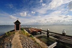Volendam a small village in the Netherlands Royalty Free Stock Images