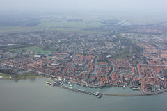 Volendam. Is a town in North Holland in the Netherlands, in the municipality of Edam-. The town has about 22,000 inhabitants November 2007 Stock Image
