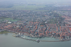 Volendam. Is a town in North Holland in the Netherlands, in the municipality of Edam-. The town has about 22,000 inhabitants November 2007 Royalty Free Stock Images