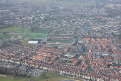Volendam. Is a town in North Holland in the Netherlands, in the municipality of Edam-. The town has about 22,000 inhabitants November 2007 Royalty Free Stock Photo
