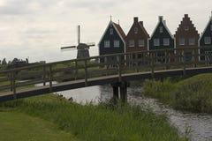 Volendam - uma cidade pequena nos Países Baixos Fotos de Stock Royalty Free