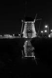 Volendam windmil Arkivbilder