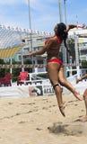 Voleo Roma de la playa del juego Foto de archivo libre de regalías