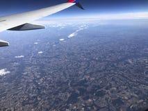 Voler au-dessus de la Floride Photo libre de droits