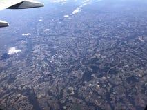 Voler au-dessus de la Floride Photographie stock