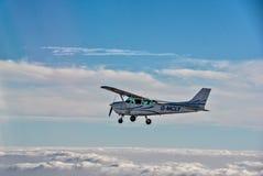 Voler au-dessus de la Norfolk du nord Image libre de droits