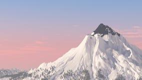 Voler autour de la montagne Loopable clips vidéos