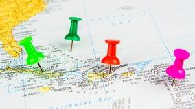 Voler aux Caraïbe photo stock